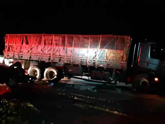 Acidente grave ocorrido em Santa Luzia-PB, saída do Posto Santo Antônio