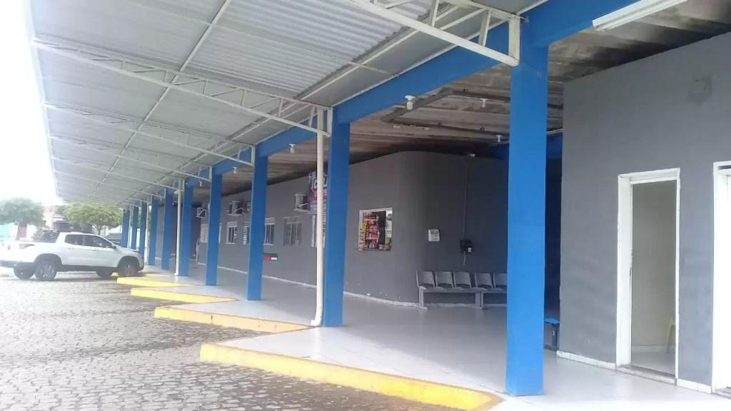 Semana Santa: No terminal rodoviário da cidade está suspenso o transporte intermunicipal