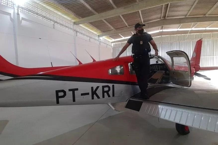 Aeronave é apreendida em Santa Rita durante operação de combate ao tráfico de drogas e lavagem de dinheiro