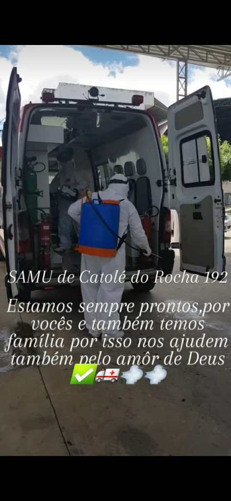 Funcionários do SAMU 192 de Catolé do Rocha pedem apoio para serem contemplados pelo Projeto de Lei do Incentivo Temporário de Emergência em Saúde Pública