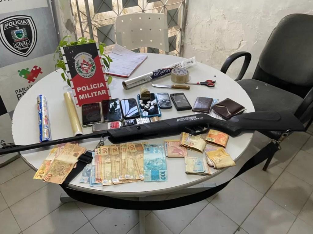 POLÍCIA MILITAR PRENDE SUSPEITOS E APREENDE DROGAS DURANTE OPERAÇÃO CIDADE SEGURA EM SOUSA