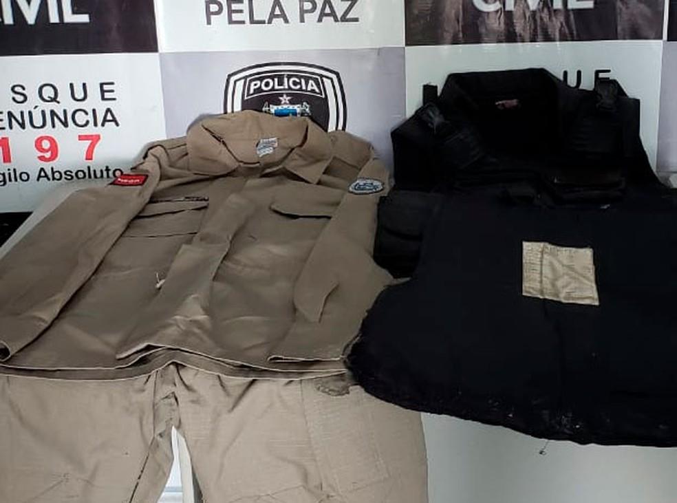 Polícia Civil da Paraíba prende homem suspeito de realizar assalto usando farda da PM