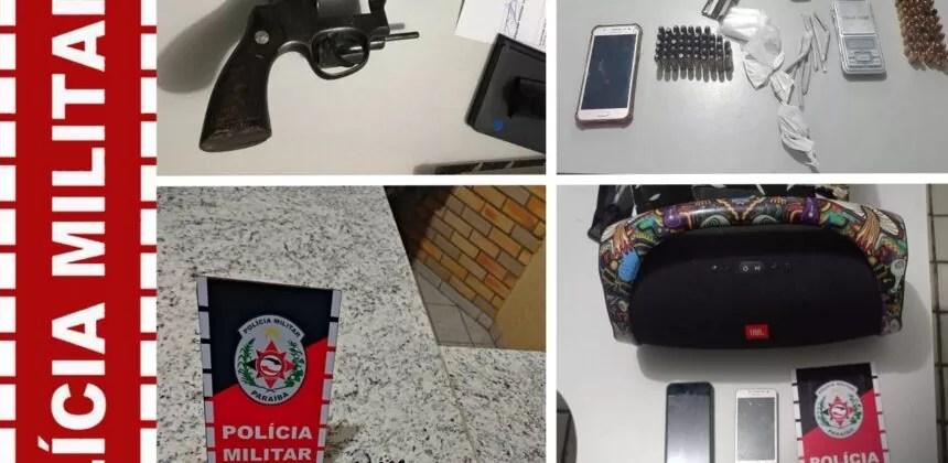 Polícia militar apreendeu 4 armas de fogo e mais de 200 munições nos últimos dias na área de São Bento