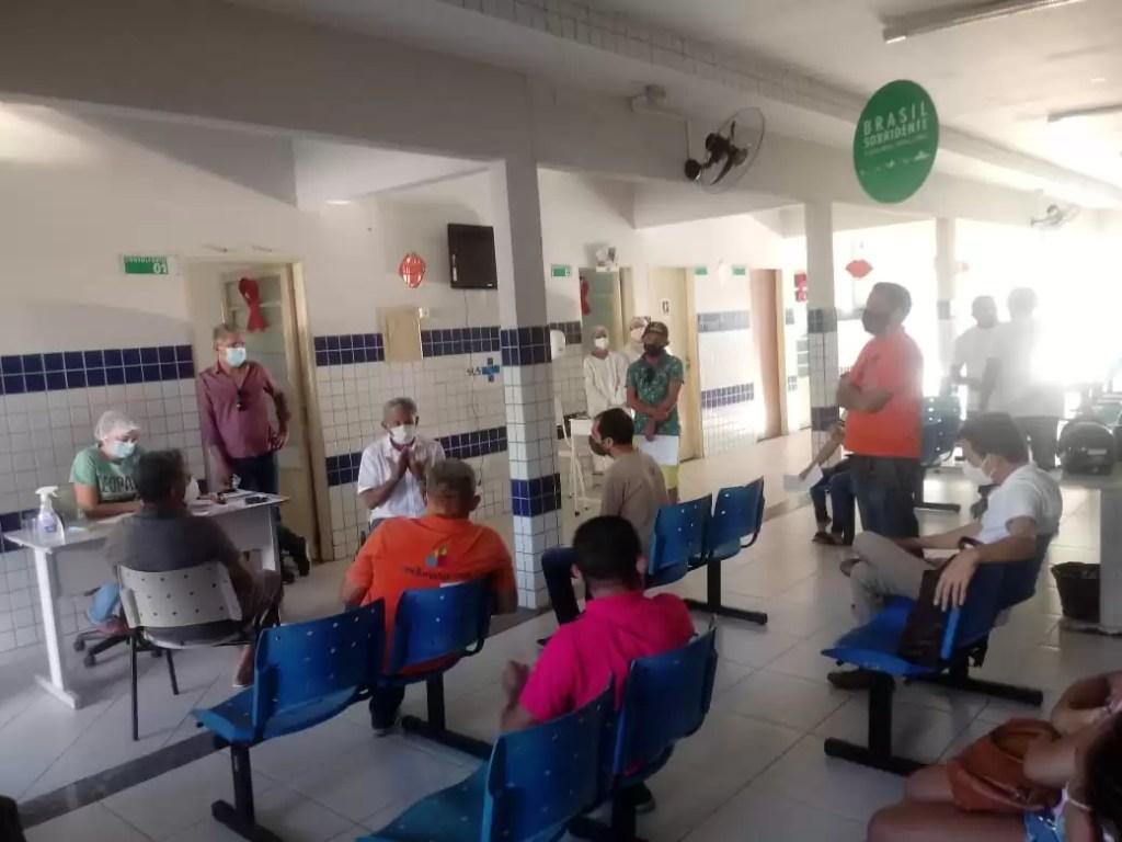 Testagem a profissionais da imprensa em Pombal foi realizada pela Secretaria municipal de saúde de Pombal. Confira: