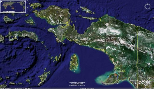 Keunikan dari Pulau Papua