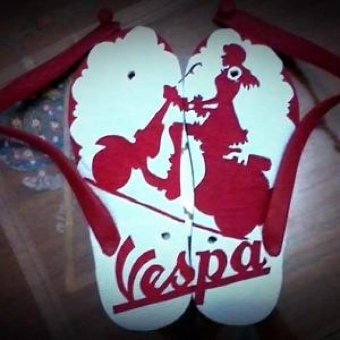Sandal Motif Vespa
