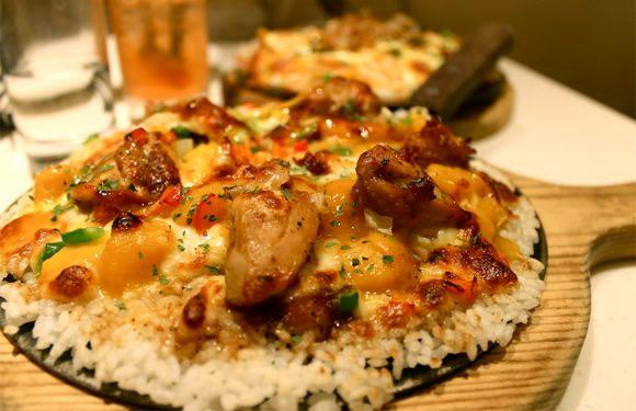 Pizza Toping Nasi