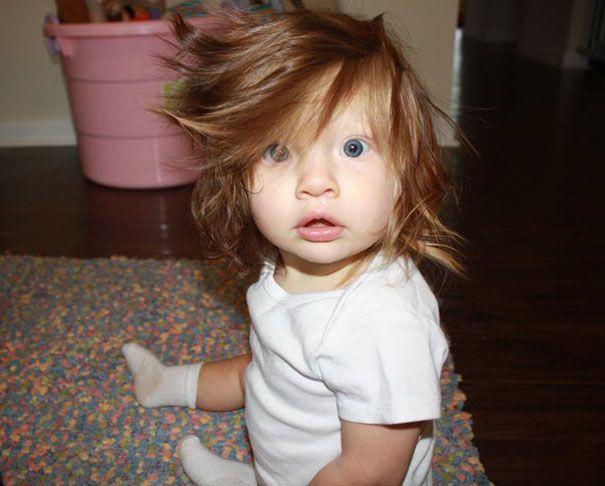 Rambut Bayi Panjang