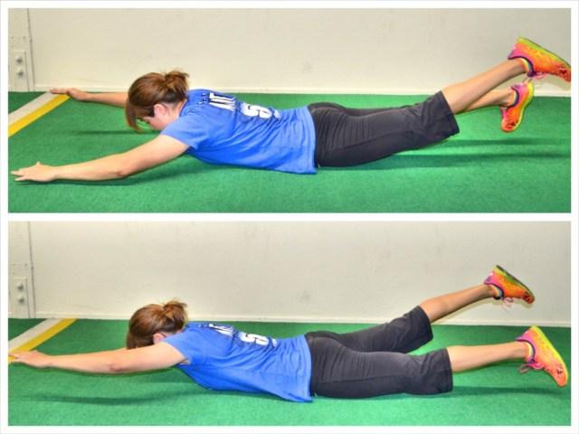 Olahraga mengecilkan perut dengan tekhnik superman exercise