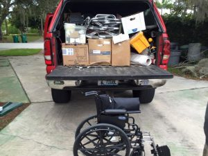 Truck Load of Medical Supplies