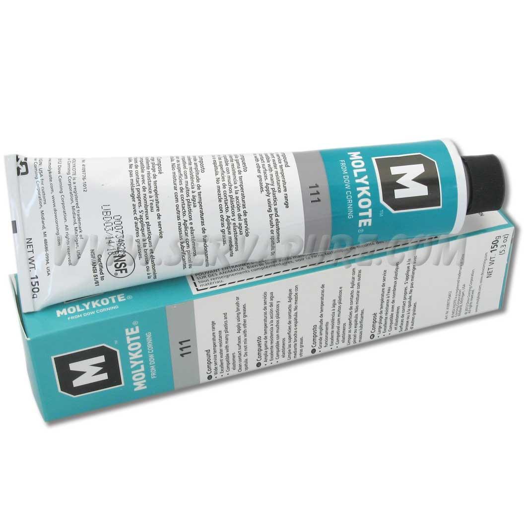 dow corning 111 o ring silicone lubricant 5 3 oz tube serv a pure