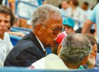 1993 US Open Mayor David Dinkins