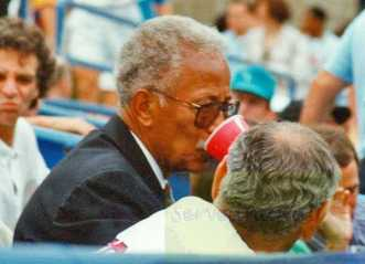 1993 US Open Mayor David Dinkins