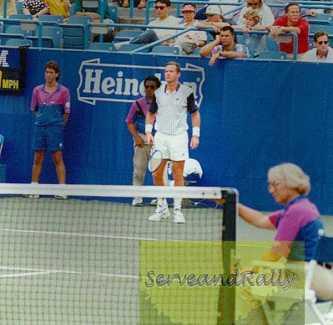 1993 US Open Patrick Mc Enroe