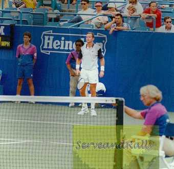 1993 US Open Patrick Mc Enroe