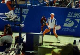 1995 US Open Boris Becker