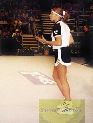 1998 Chase Championships Steffi Graf