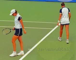 1999 Australian Open Lindsay Davenport & Natasha Zvereva