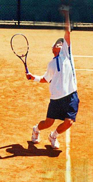2000 Roland Garros Andy Roddick