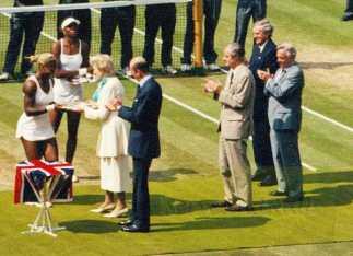 2002 Wimbledon Woman's Final Trophy Presentation