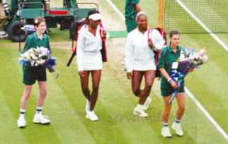 2002 Wimbledon Women's Final Serena vs Venus
