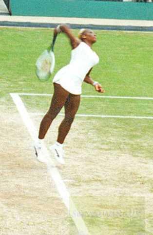 2002 Wimbledon Serena Williams