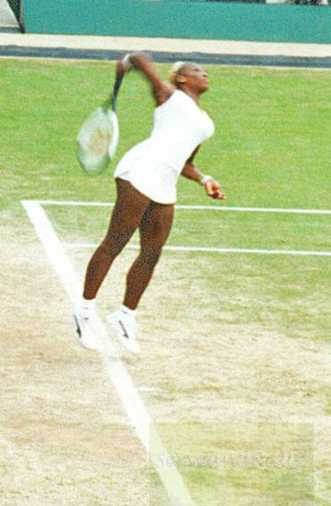 2002 Wimbledon Serena Williams