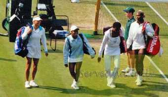 2002 Wimbledon Doubles AK&CR vs. Serena and Venus