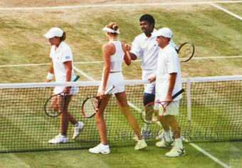 2002 Wimbledon Mixed Doubles
