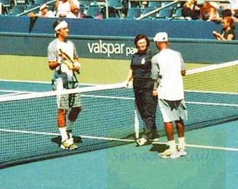 2007 US Open Feliciano Lopez vs. Donald Young