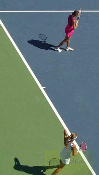2010 US Open F. Pennetta & Gisela Dulko
