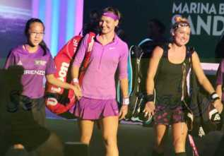 Safarova and Mattek-Sands