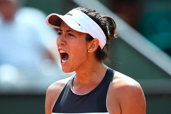 Muguruza thrashes Halep for Cincy title