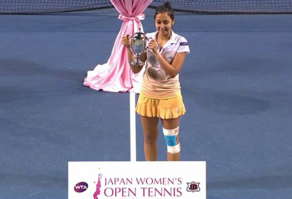 Diyas claims first singles title