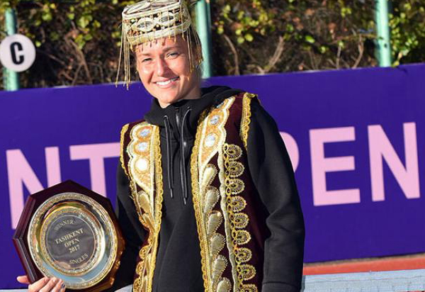 Bondarenko back in top 100 with tashkent with title