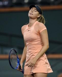Maria Sharapova 2018 Indian Wells