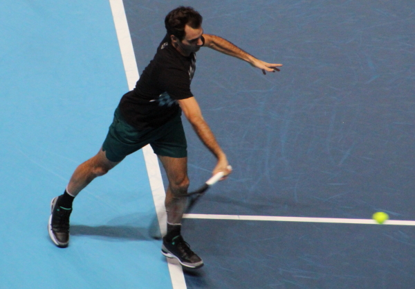 Federer and Del Potro to meet in final