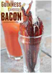Take your Bacon AND your Bloody Marys to the next level by making Guinness Candied Bacon!