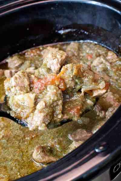 Crock Pot Pork Verde From Scratch - the perfect weeknight dinner