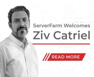 Ziv Catriel joins ServerFarm as EVP, InCommand Services