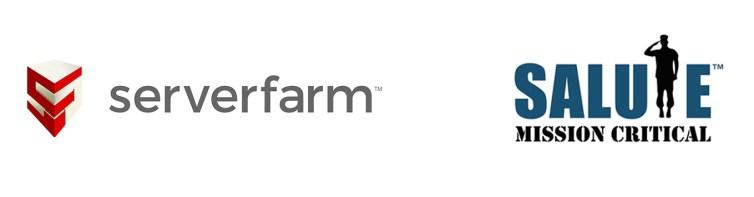ServerFarm x Salute Mission Critical Logo