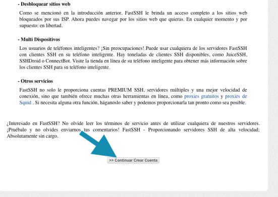 como crear cuenta ssh premium gratis ilimitada
