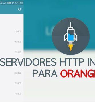 servidores orange http injector 2019 spain ilimitados