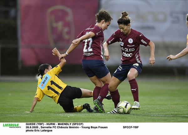 Young Boys Frauen- Servette FC Chênois Féminin : le match de toutes les attentes