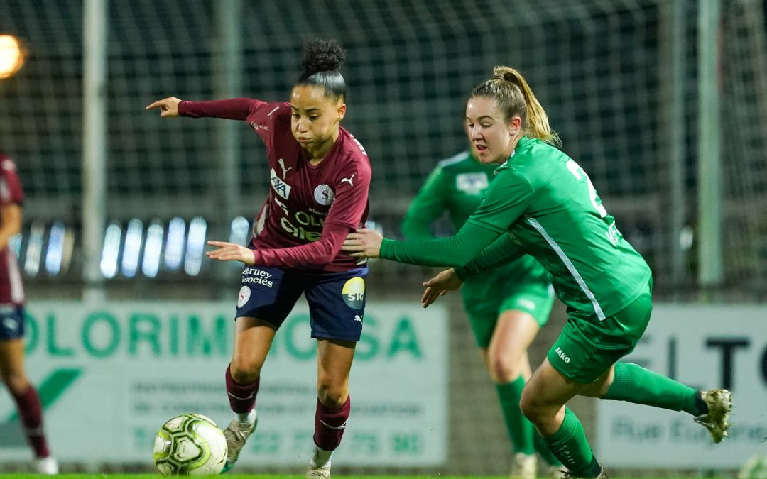 Servette FCCF – FC St. Gallen-Staad 4-0 (1-0) : Retour à domicile victorieux