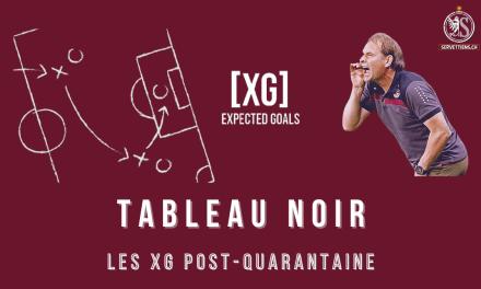 Tableau noir : Focus sur les xG des 10 dernières rencontres