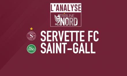 Servette – Saint-Gall | L'analyse de la rencontre