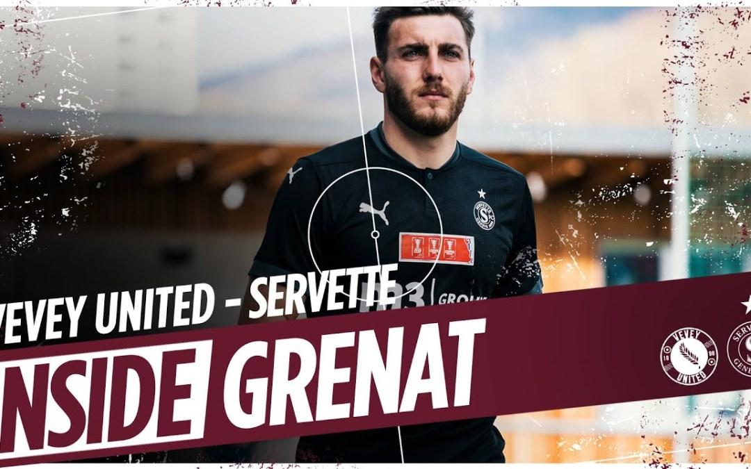 FC Vevey United 2 – 4 Servette FC | Les coulisses du match 🔥 (SFC TV)