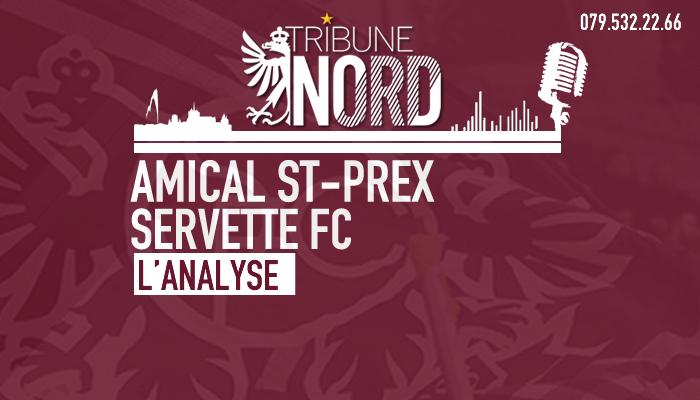Amical Saint-Prex – Servette FC | L'analyse du match