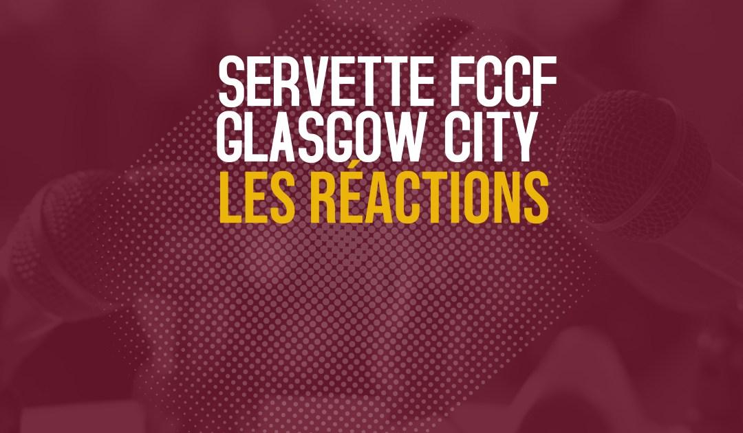 Servette FCCF – Glasgow City | Les réactions